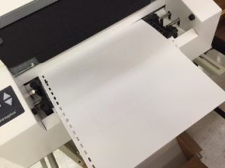 Braille Project Tiger Embosser