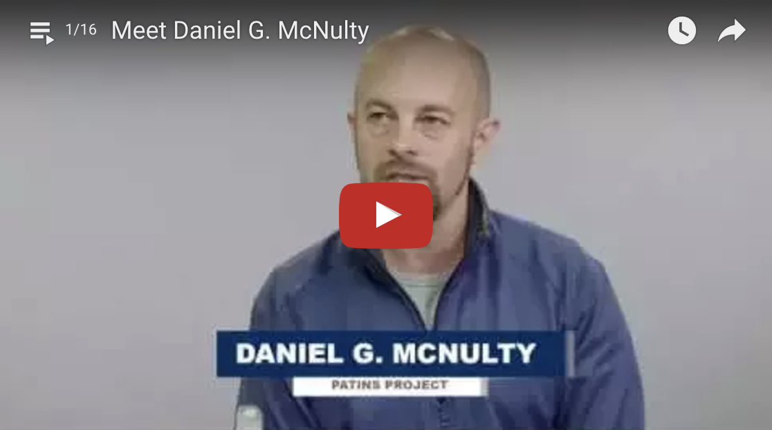 Play YouTube video introduction of Daniel McNulty