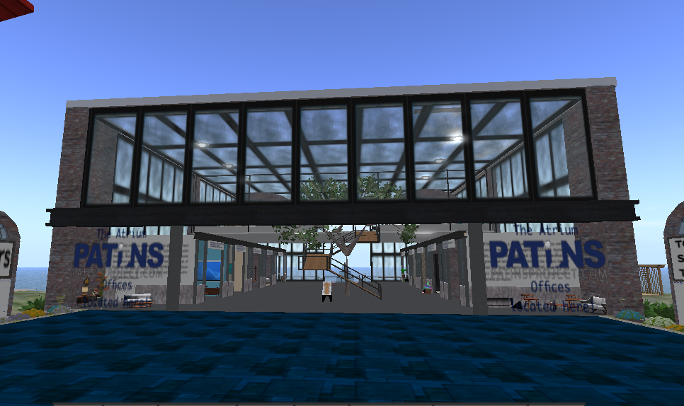 PATINS Second Life office building