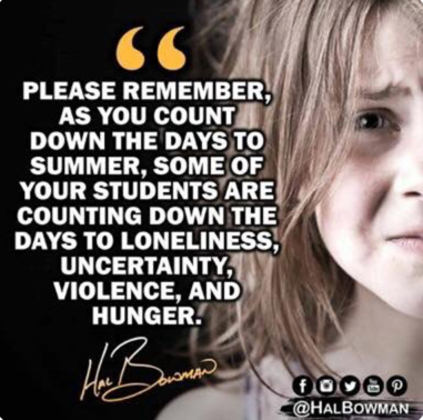 Some students count down days to loneliness, violence and hunger.