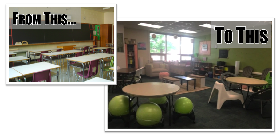 Traditional & UDL Classroom Comparison