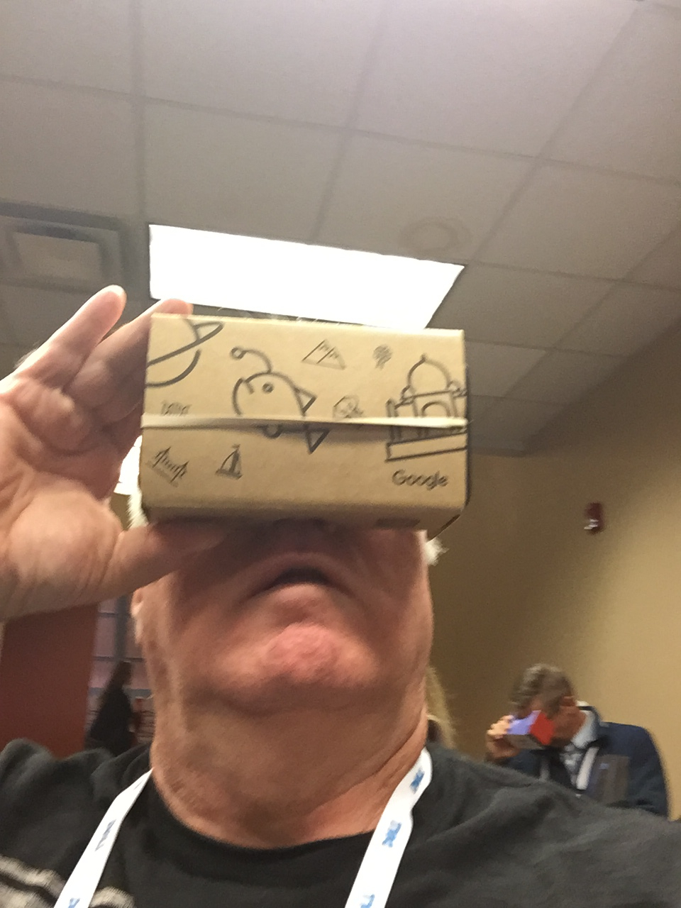Jim on a Google Expedition