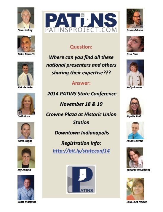 PATINS Conference Flyer
