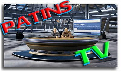 This is a preview picture of the PATINS TV broadcasts.