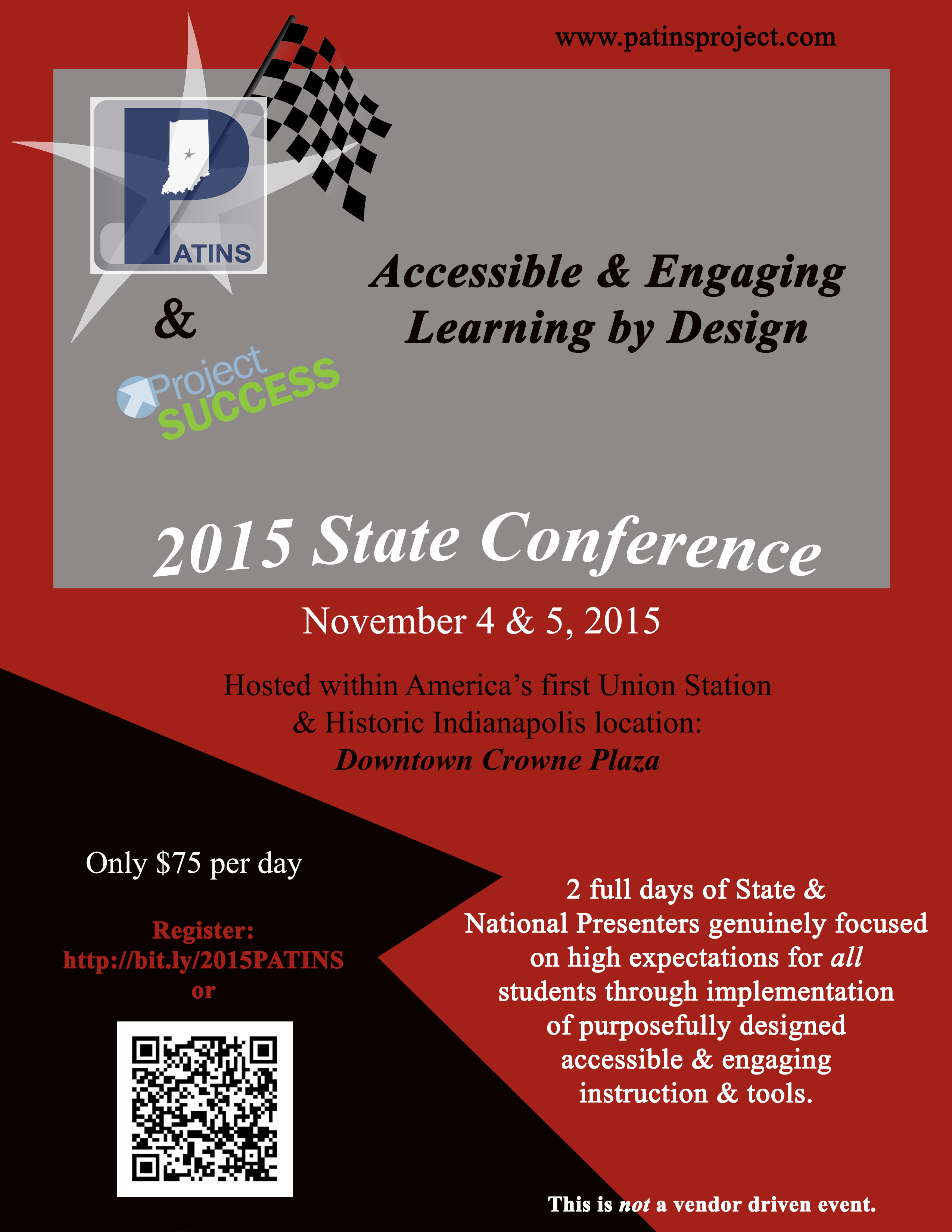 PATINS 2015 State Conference Flyer